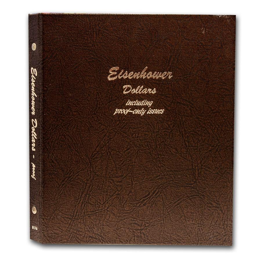 1971-1978 32-Coin Eisenhower Dollar Set BU/Proof (Dansco Album)