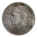 1971-1978 Clad Eisenhower Dollar Copper Nickel (Off-Quality)