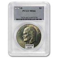 1971-1978 Clad Eisenhower Dollar MS-66 PCGS (Random Year)