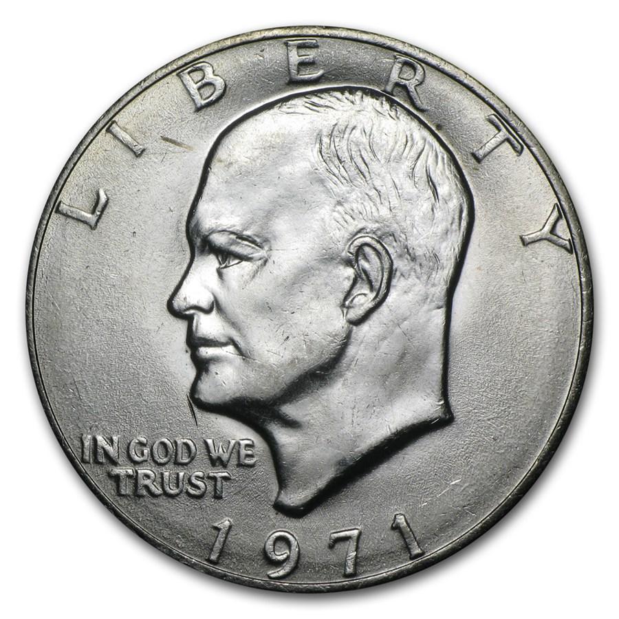 1971 Clad Eisenhower Dollar BU
