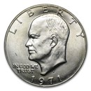 1971-D Clad Eisenhower Dollar BU