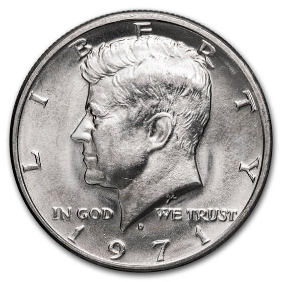 1971-D Kennedy Half Dollar BU