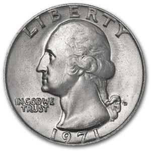 1971-D Washington Quarter BU