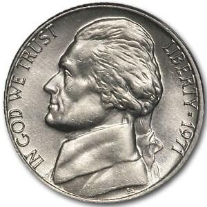 1971 Jefferson Nickel BU