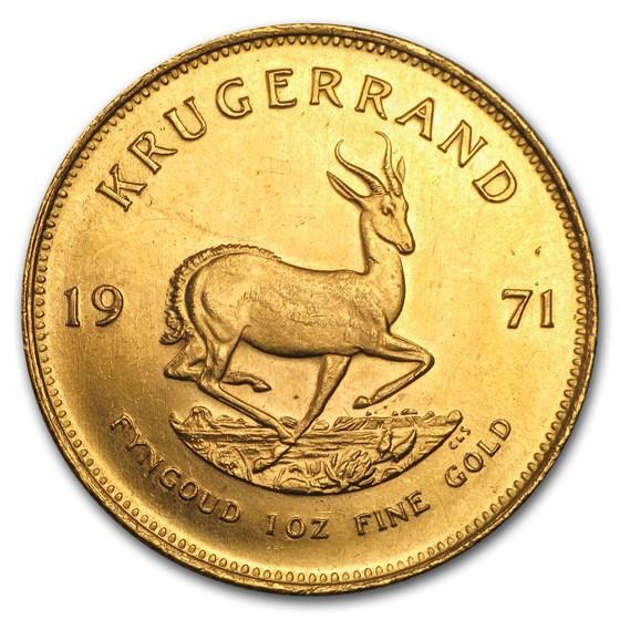 1971 South Africa 1 oz Gold Krugerrand