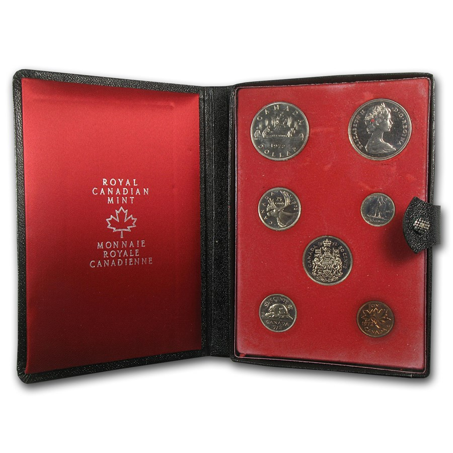 1972 Canada 7-Coin Double Dollar Specimen Set