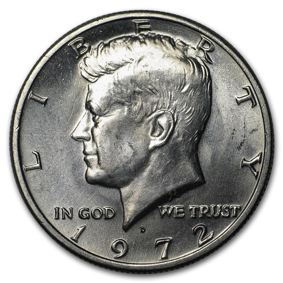 1972-D Kennedy Half Dollar BU