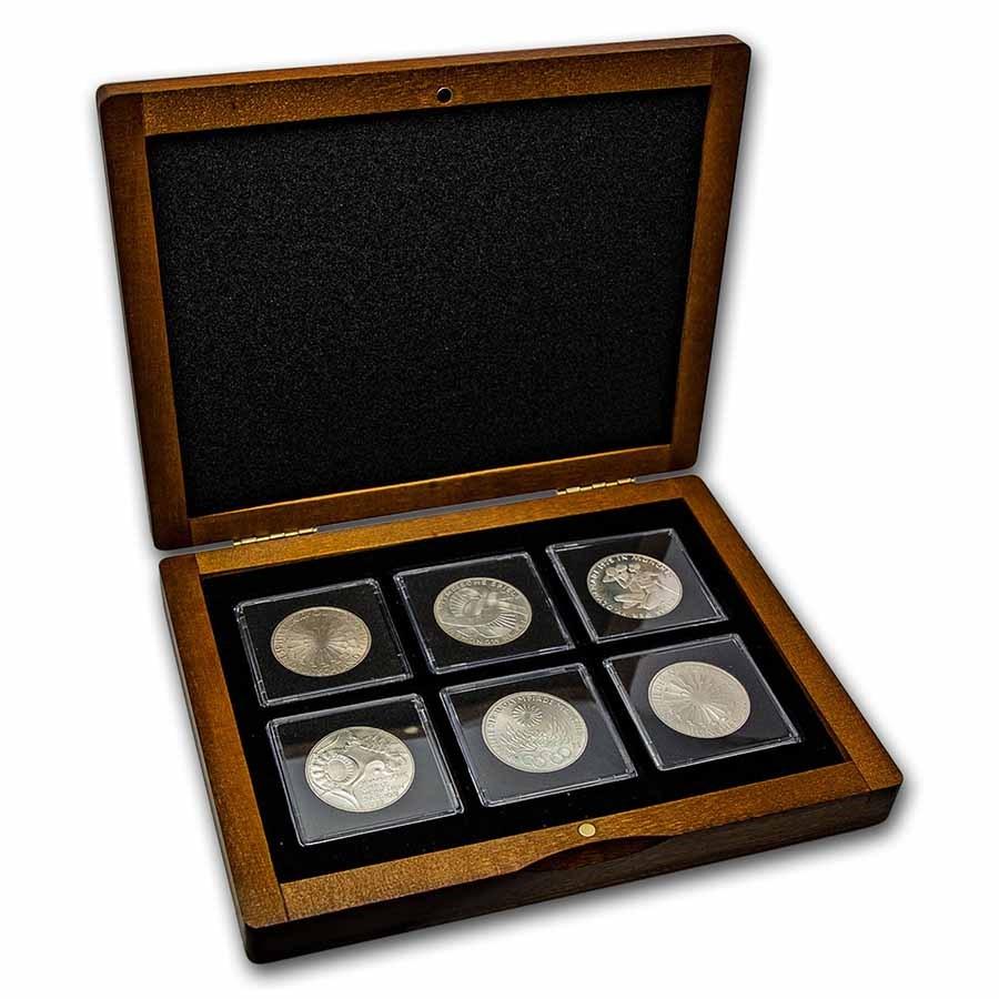 1972 Germany Olympics 10 D-Mark 6-Coin Set BU