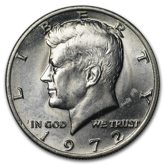 1972 Kennedy Half Dollar BU