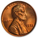 1972 Lincoln Cent BU (Red)