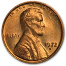 1972-S Lincoln Cent BU (Red)
