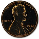 1972-S Lincoln Cent Gem Proof (Red)