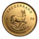 1972 South Africa 1 oz Gold Krugerrand BU