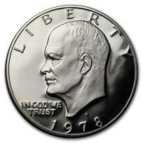 1973-1978 Clad Eisenhower Dollar Proof (Copper-Nickel)