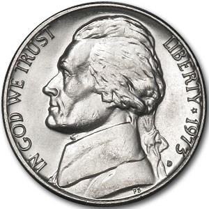 1973-D Jefferson Nickel BU