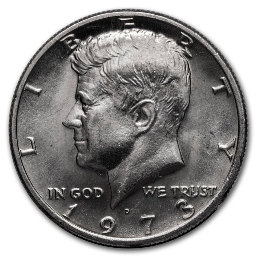 1973-D Kennedy Half Dollar BU