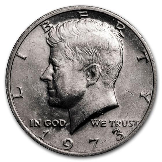 1973 Kennedy Half Dollar BU