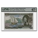 1973 Seychelles 50 Rupees Note CU-67 EPQ PMG