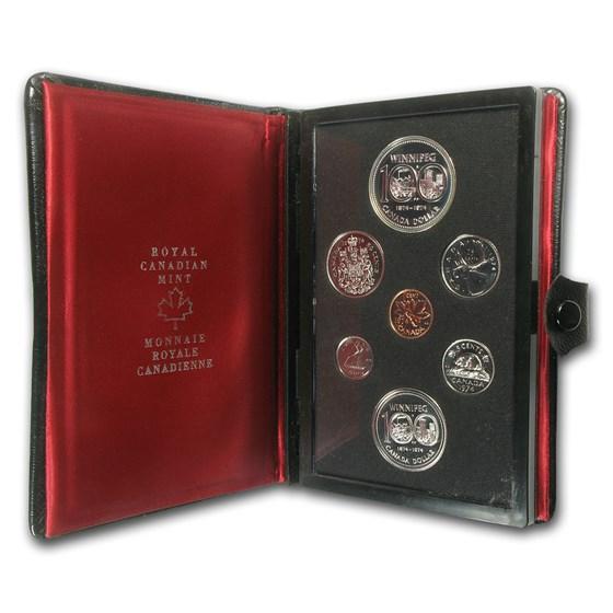 1974 Canada 7-Coin Double Dollar Specimen Set
