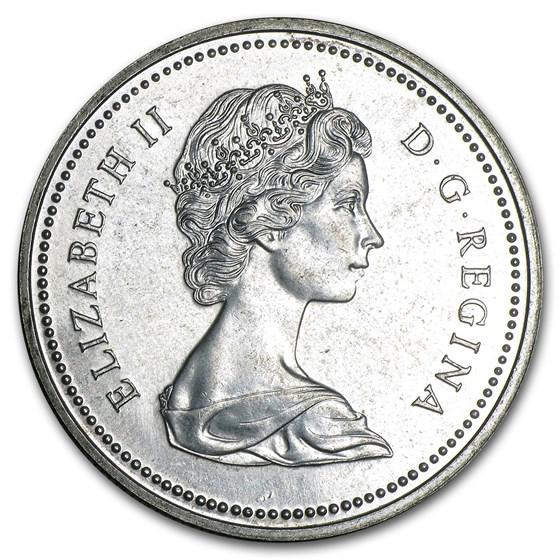 1974 Canada Silver Dollar Specimen (Centennial of Winnipeg)