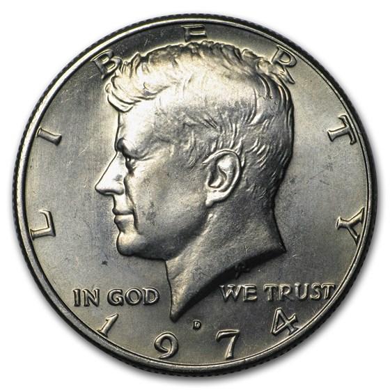 1974-D Kennedy Half Dollar BU