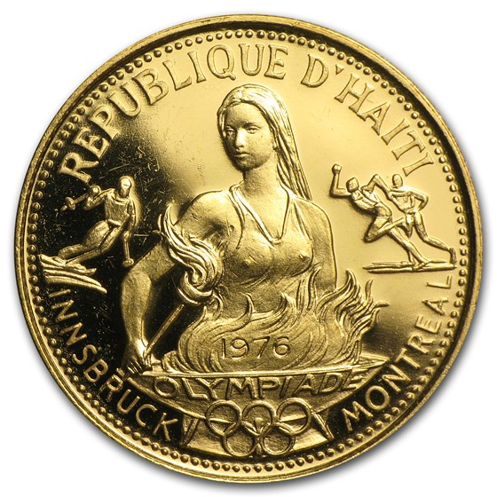 1974 Haiti Gold 500 Gourdes Olympic Games