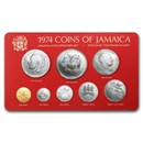 1974 Jamaica 8-Piece Specimen Set BU