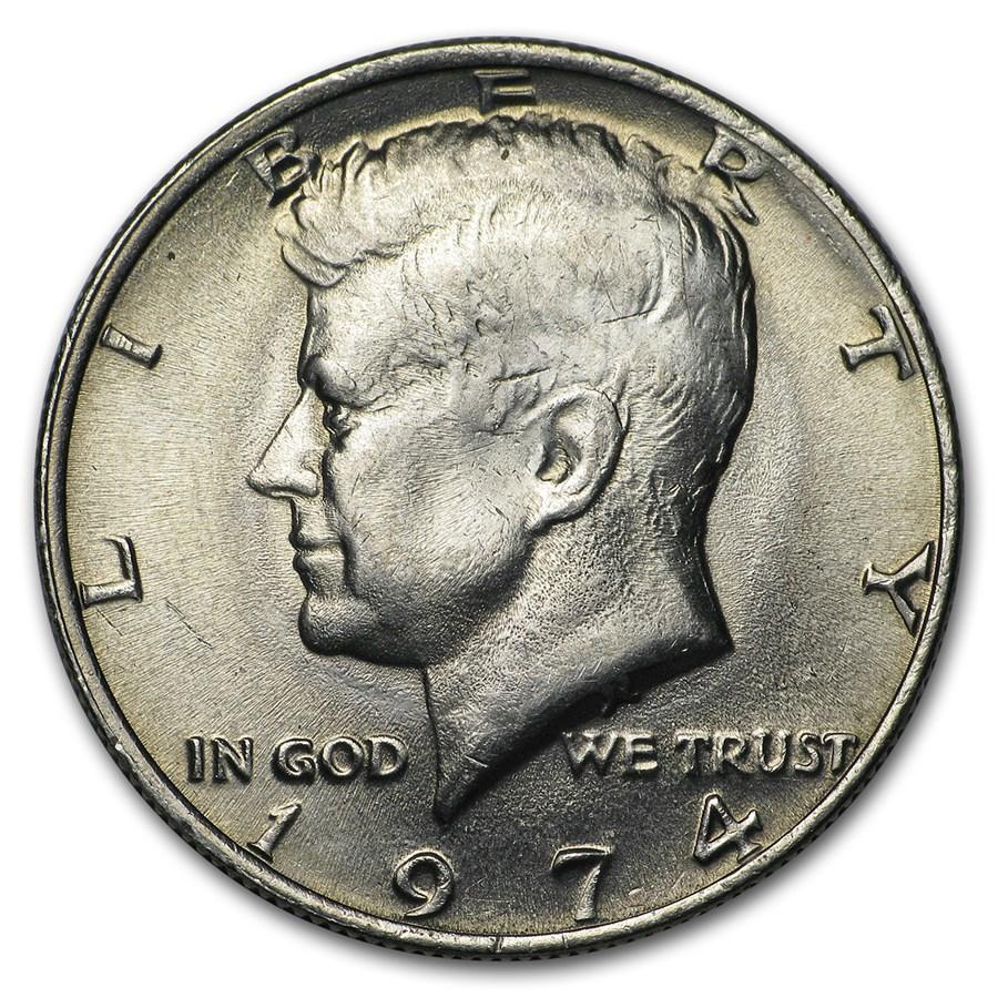 1974 Kennedy Half Dollar BU