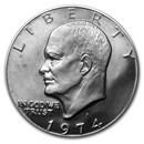 1974-S Clad Eisenhower Dollar Gem Proof