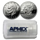 1974-S Clad Eisenhower Dollars 20-Coin Roll Gem Proof