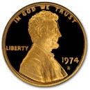 1974-S Lincoln Cent Gem Proof (Red)