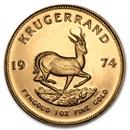 1974 South Africa 1 oz Gold Krugerrand
