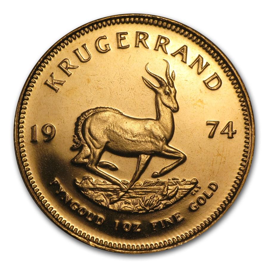 1974 South Africa 1 oz Proof Gold Krugerrand