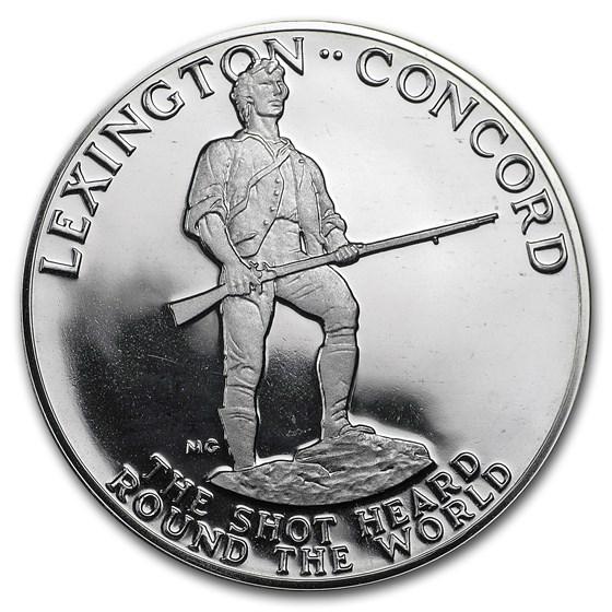 1975 American Revolution Bicentennial Sterling Silver Medal