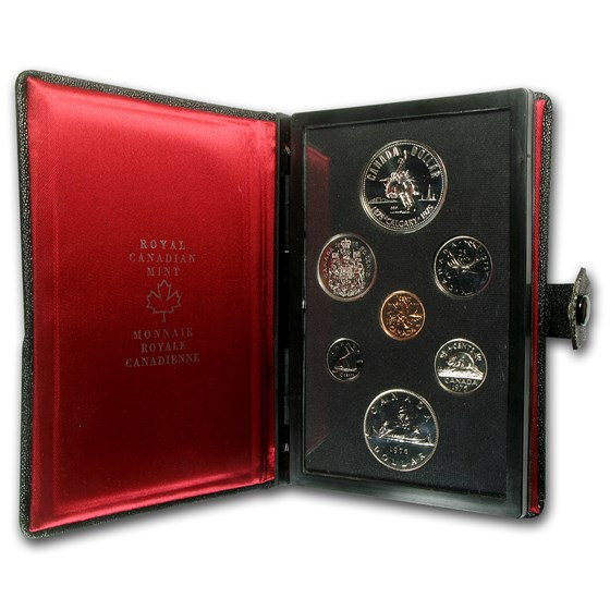 1975 Canada 7-Coin Double Dollar Specimen Set