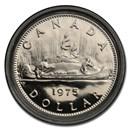 1975 Canada Nickel Dollar Voyageur Prooflike (Original box pkg)