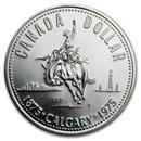 1975 Canada Silver Dollar Specimen (Calgary Centennial)