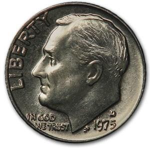 1975-D Roosevelt Dime BU