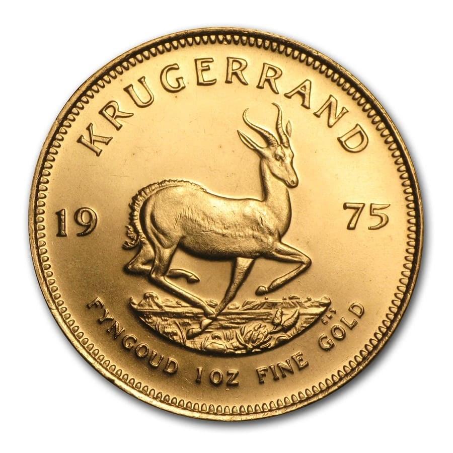 1975 South Africa 1 oz Gold Krugerrand BU