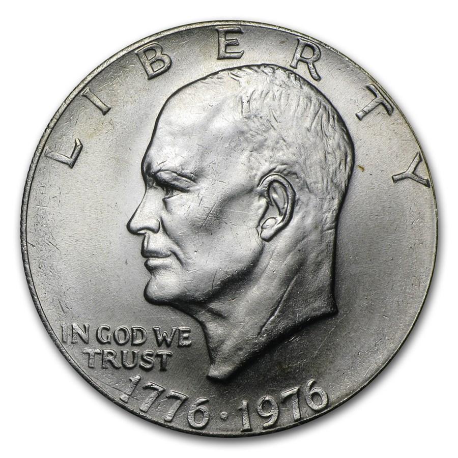 1976 Clad Eisenhower Dollar BU (Type-2)