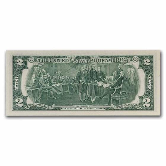 1976 (D-Cleveland) $2.00 FRN CU (Fr#1935-D)