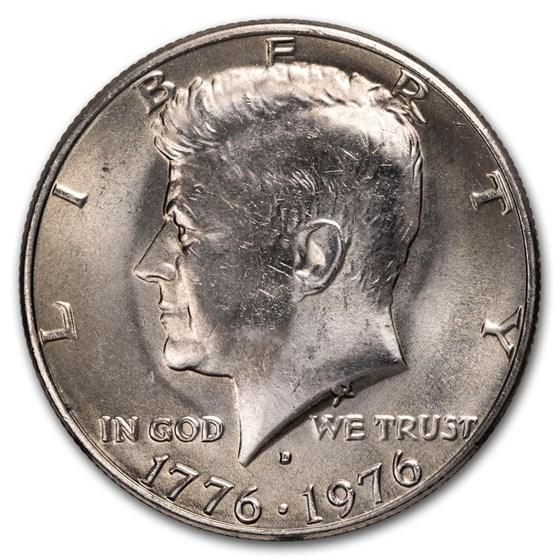 1976-D Kennedy Half Dollar BU