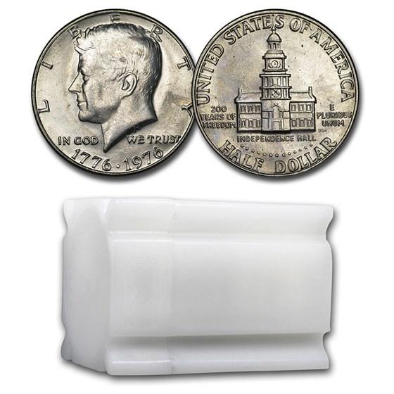 1976 Kennedy Half Dollar 20-Coin Roll BU