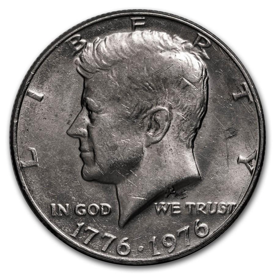 1976 Kennedy Half Dollar BU