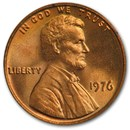 1976 Lincoln Cent BU (Red)