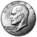 1976-S 40% Silver Eisenhower Dollar BU (Type 1) Flat Letters