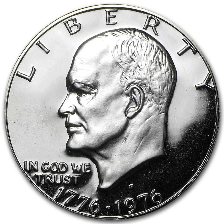 1976-S 40% Silver Eisenhower Dollar Gem Proof