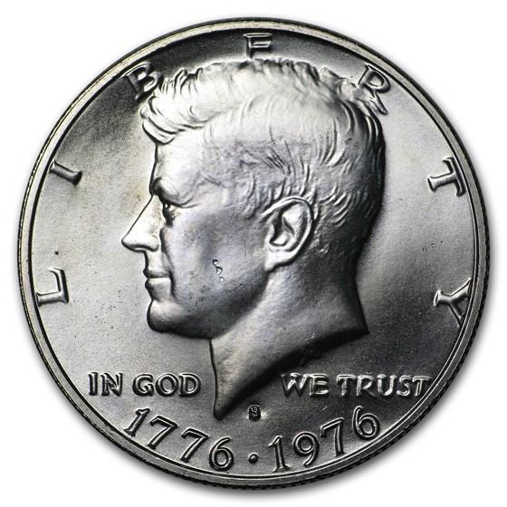 1976-S 40% Silver Kennedy Half Dollar BU