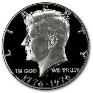 1976-S 40% Silver Kennedy Half Dollar Gem Proof