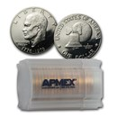 1976-S Clad Eisenhower Dollars 20-Coin Roll Proof (Type-2)